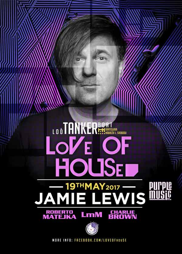 picture LoVe Of HOUSe presents Jamie Lewis/Purple Music