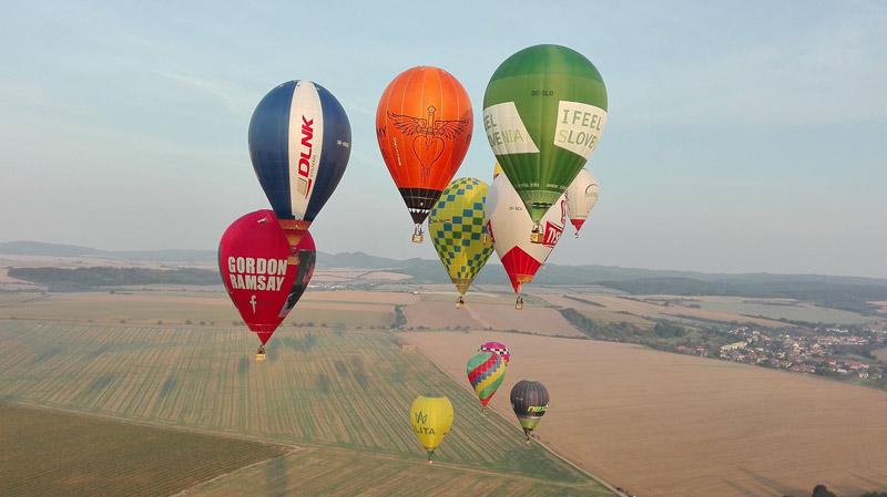 picture Vyhliadkový let balónom