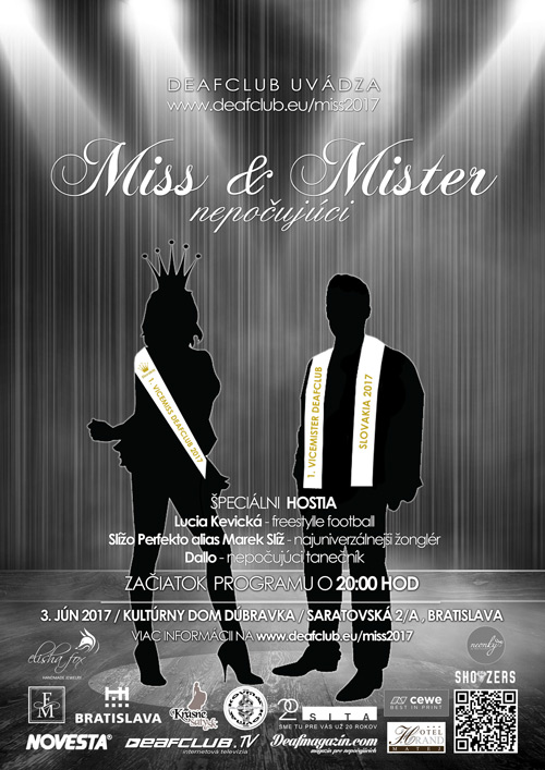 picture Miss a mister Deafclub 2017