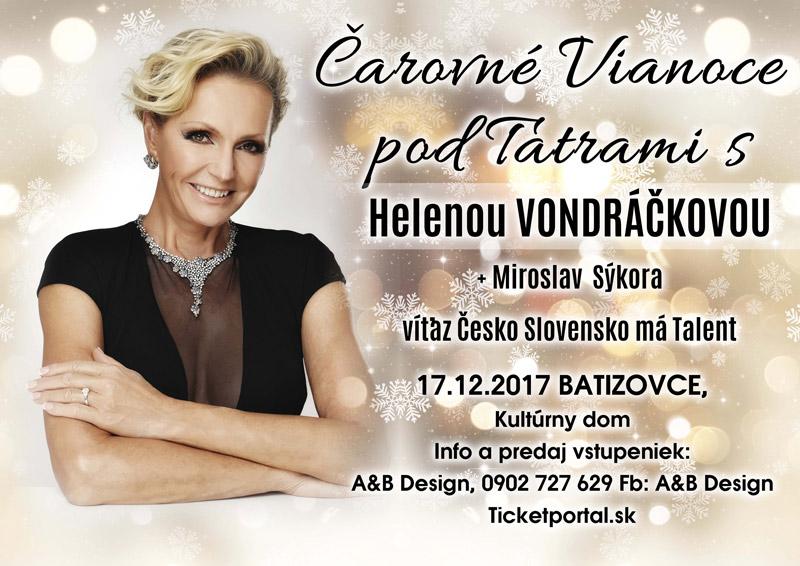 picture Čarovné Vianoce pod Tatrami s H. Vondráčkovou