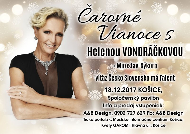 picture Čarovné Vianoce s Helenou Vondráčkovou