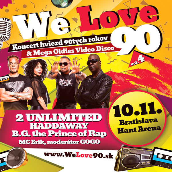 picture We Love 90, vol.4, 2 Unlimited, Haddaway ...