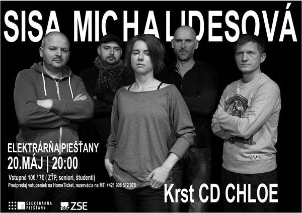 picture SISA MICHALIDESOVÁ - CHLOE Koncert a krst CD
