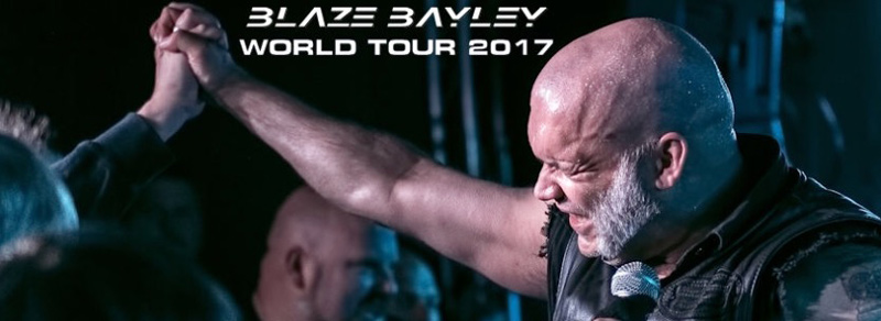 picture BLAZE BAYLEY WORLD TOUR