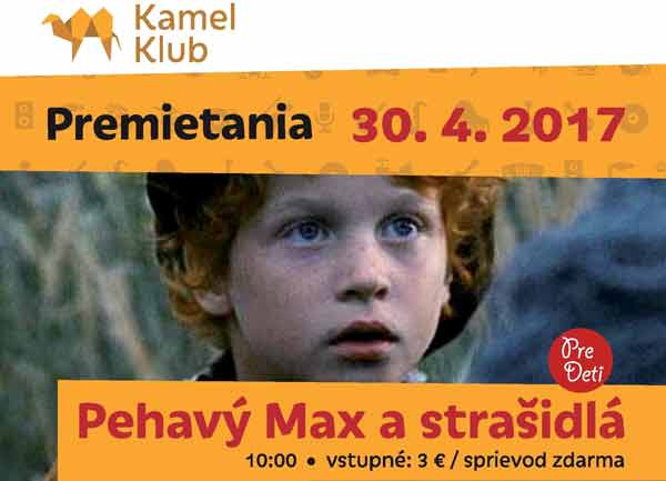 picture Pehavý Max a strašidlá - Filmový klub Kamel