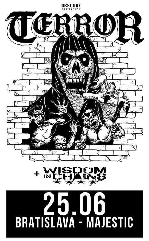 picture TERROR (USA), WISDOM IN CHAINS (USA)