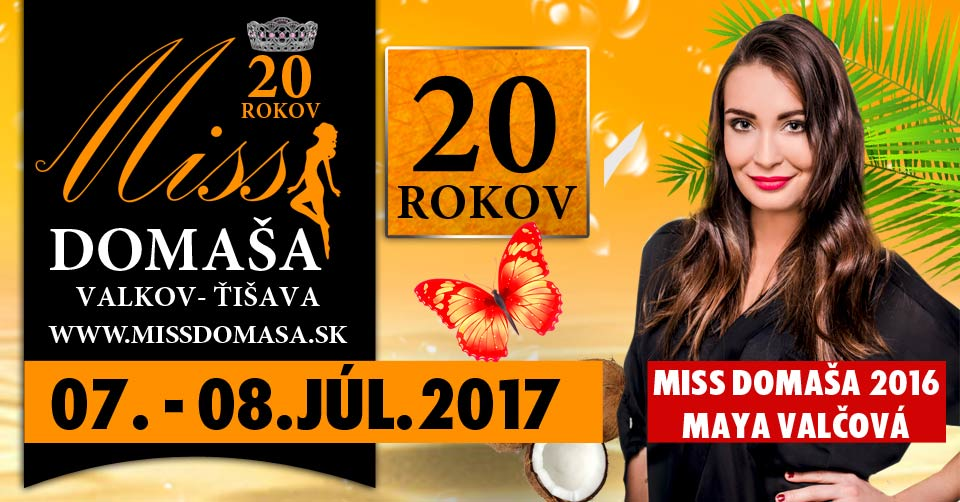 picture Miss Domaša 2017