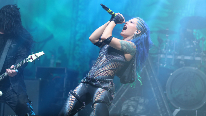 picture ARCH ENEMY + Jinjer