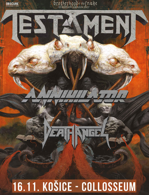 picture TESTAMENT(USA), ANNIHILATOR(CA), DEATH ANGEL(USA)