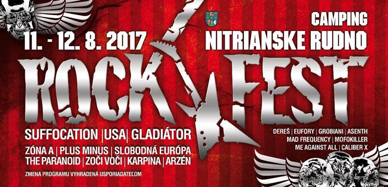 picture ROCKFEST NITRIANSKE RUDNO 2017
