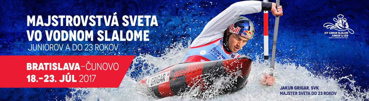 picture MS Juniorov a do 23 rokov vo vodnom slalome 2017
