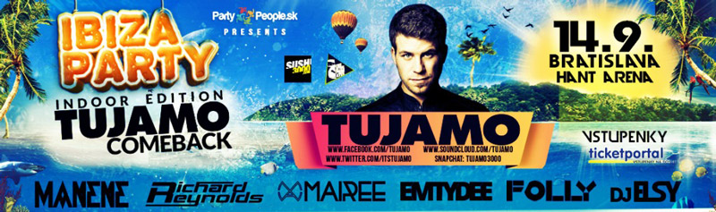 picture IBIZA PARTY - TUJAMO comeback