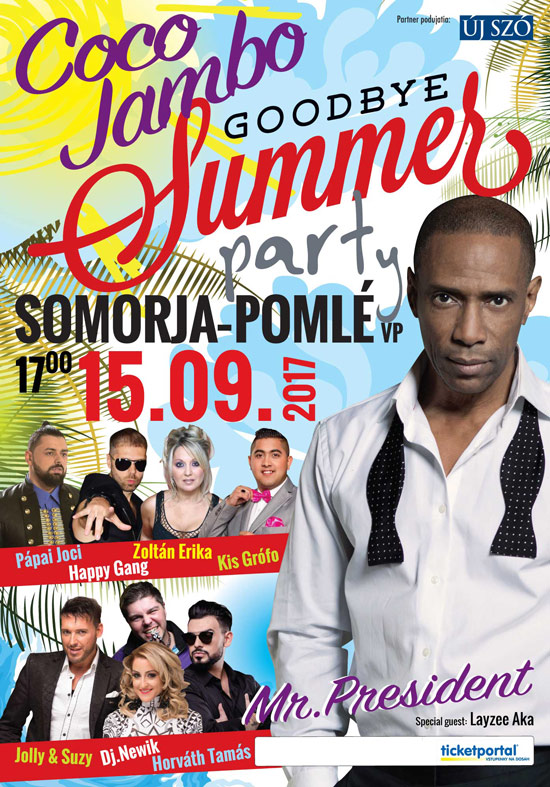 picture COCO JAMBO - Goodbye Summer párty!