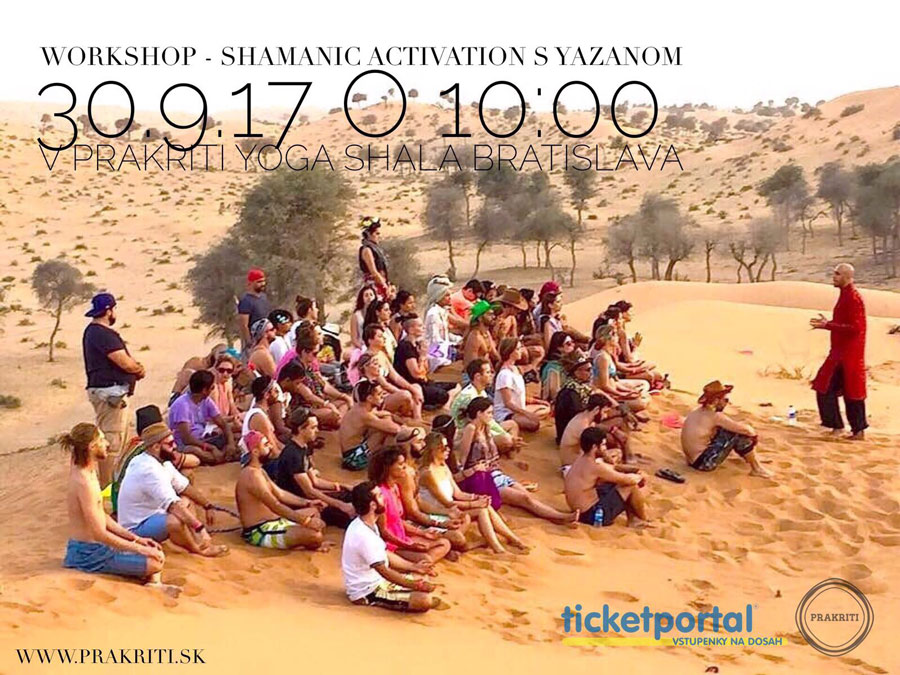 picture Shamanic Activation s Yazanom - workshop