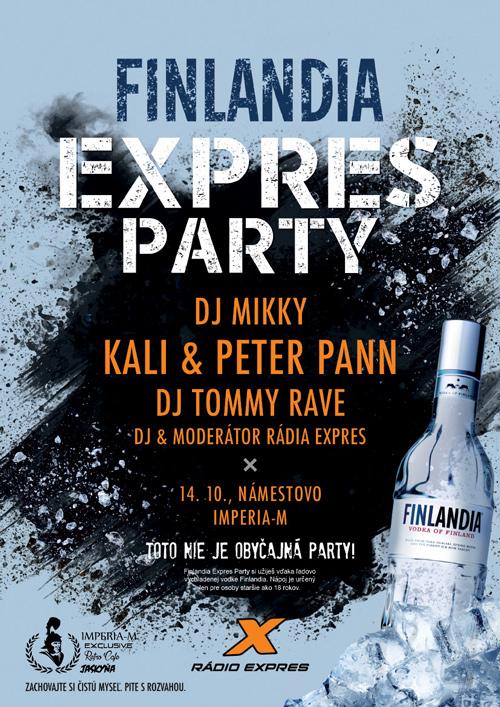 picture KALI a PETER PANN Finlandia Expres párty