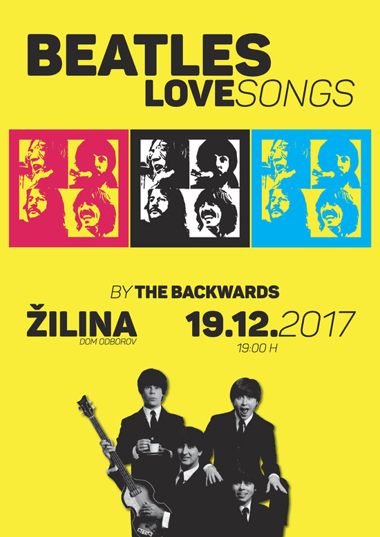 picture THE BACKWARDS - BEATLES LOVE SONGS
