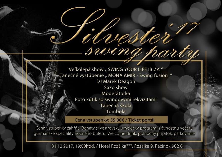 picture Silvester 2017 swing party v hoteli Rozálka