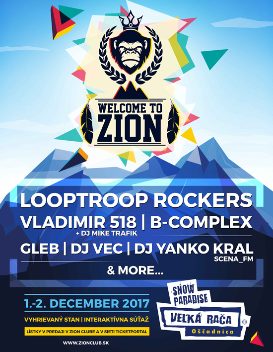 picture Welcome to Zion: Looptroop Rockers (SWE) & more...