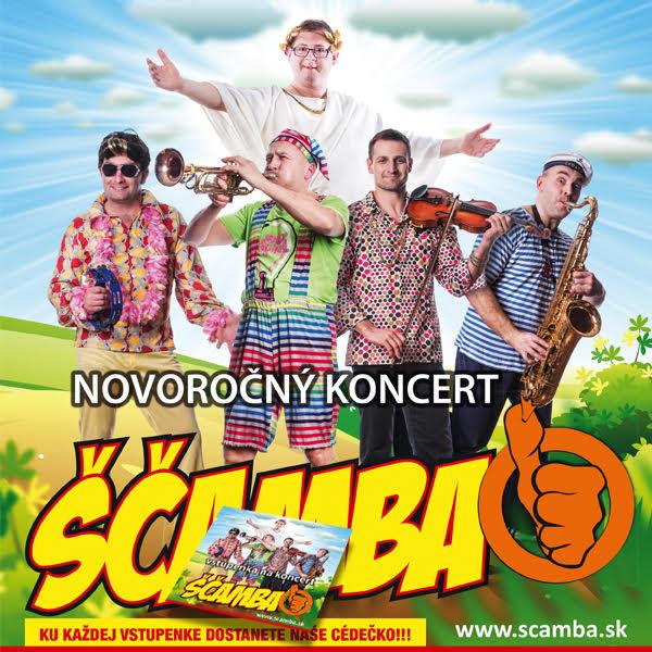 picture Ščamba - NOVOROČNÝ koncert