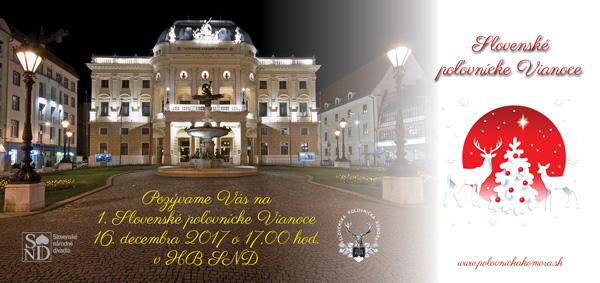 picture Slovenské poľovnícke Vianoce