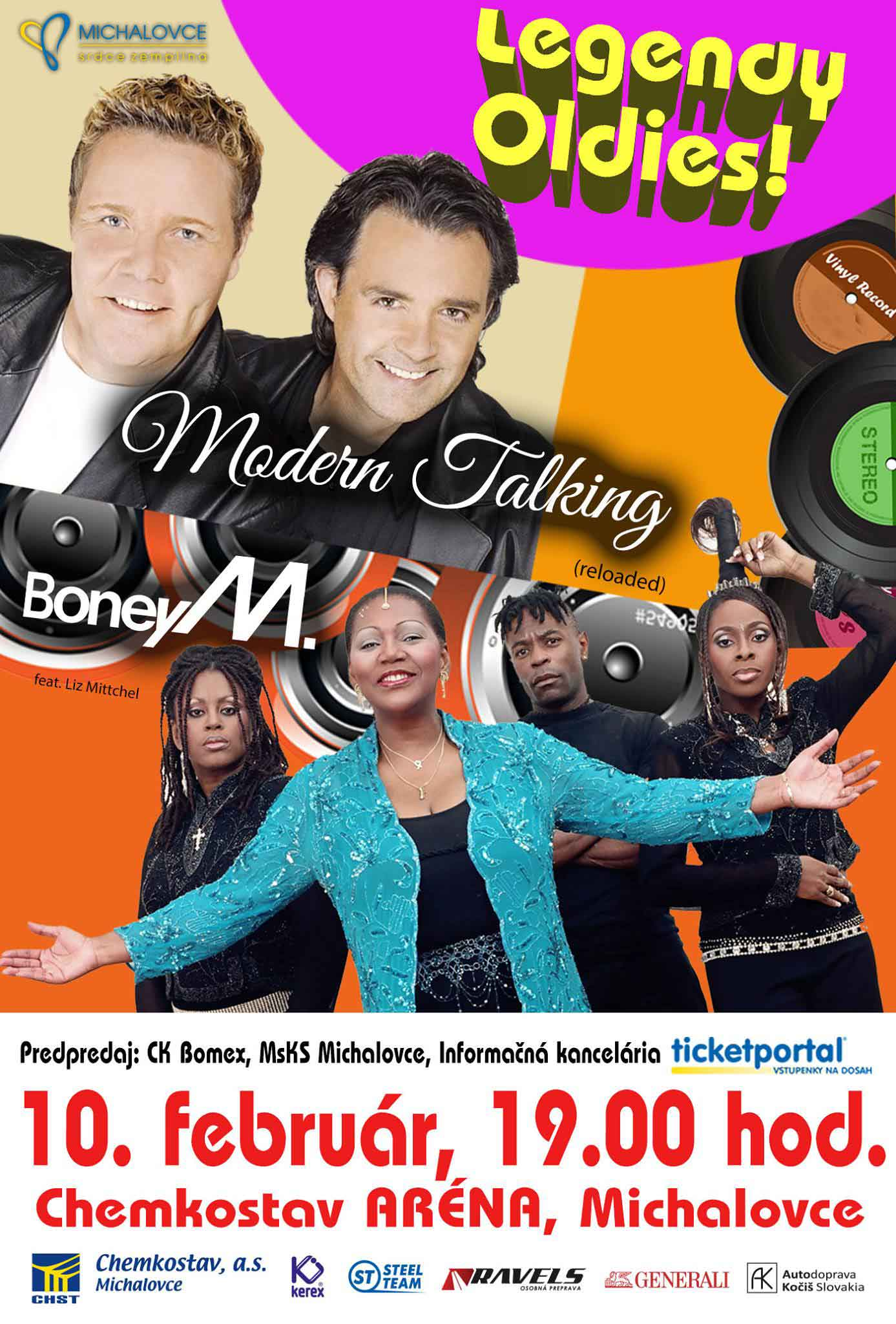 picture LEGENDY OLDIES Boney M a Modern Talking(reloaded)