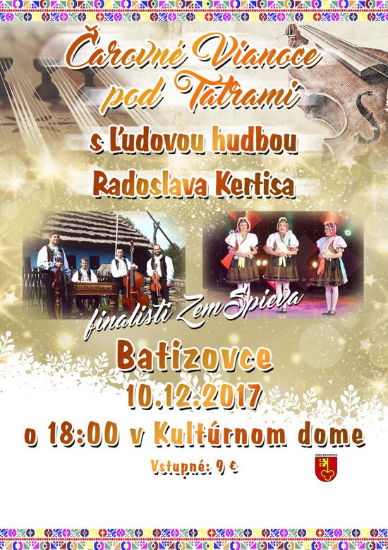 picture Čarovné Vianoce pod Tatrami s ľudovou hudbou ...