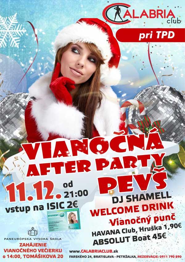 picture Vianočná AFTER PARTY PEVŠ