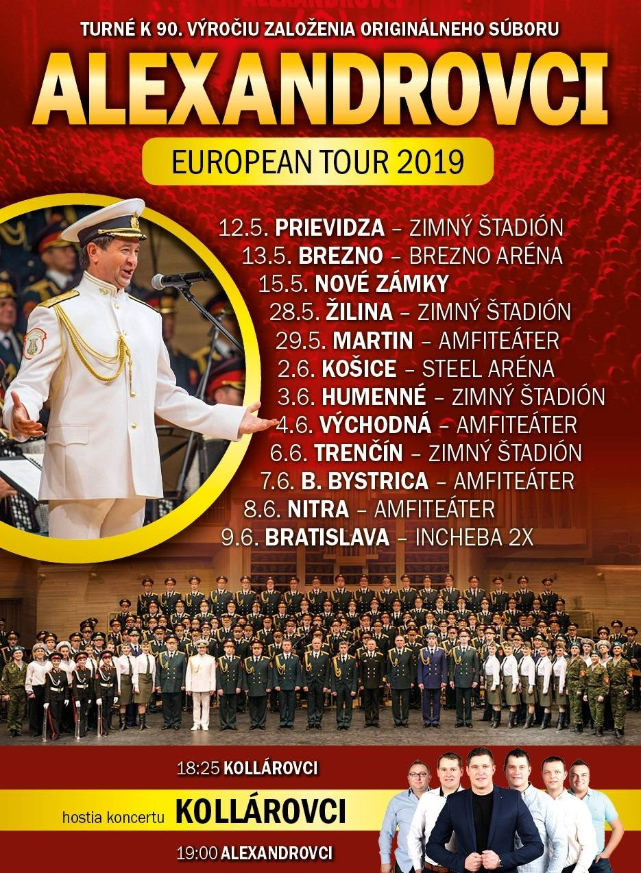 picture ALEXANDROVCI EUROPEAN TOUR 2019