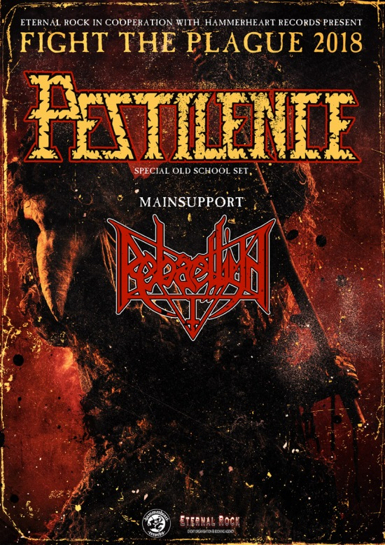 picture PESTILENCE + support