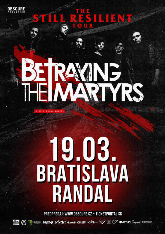 picture BETRAYING THE MARTYRS (FRA) + special guest