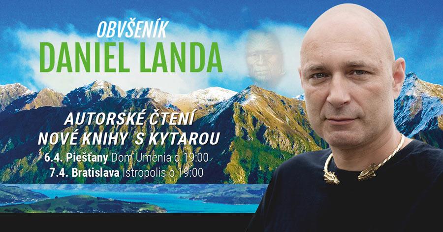 picture DANIEL LANDA - OBVŠENÍK, autorské čítanie ...