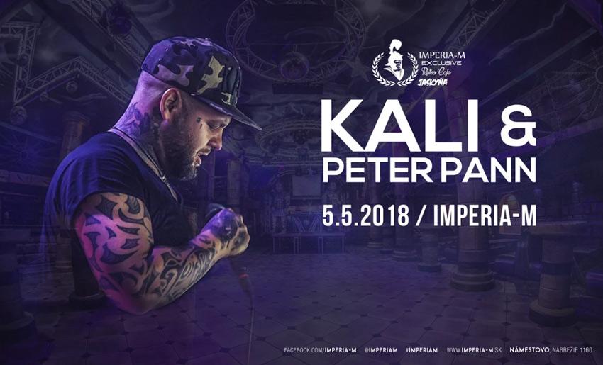 picture KALI a PETER PANN Live koncert