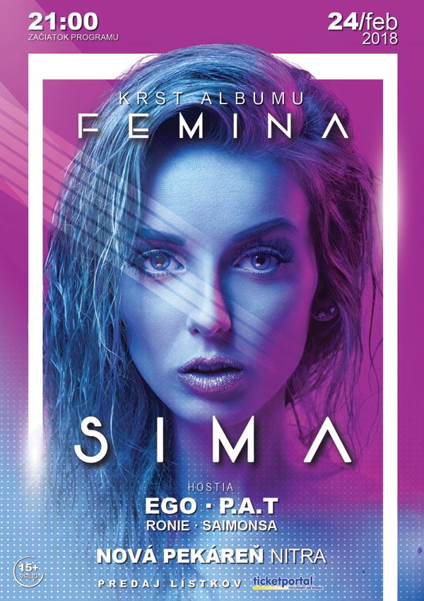 picture Sima - Femina (Krst Albumu)
