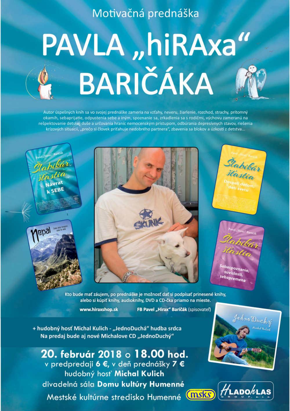 """picture motivačná prednáška """"PAVLA hiRAxa BARIČÁKA"""""""