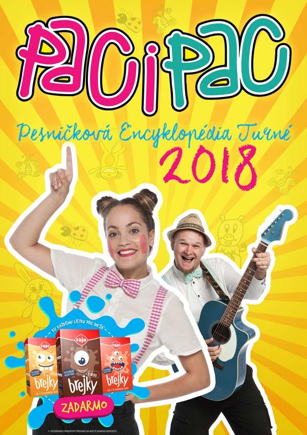picture Paci Pac - Pesničková Encyklopédia Turné 2018