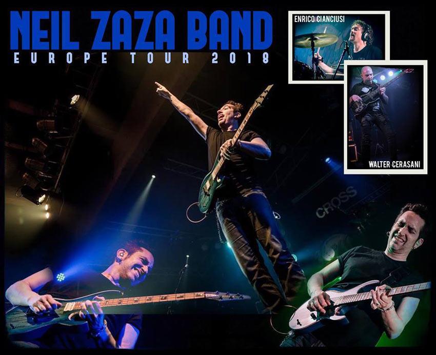 picture NEIL ZAZA BAND - EUROPE TOUR 2018