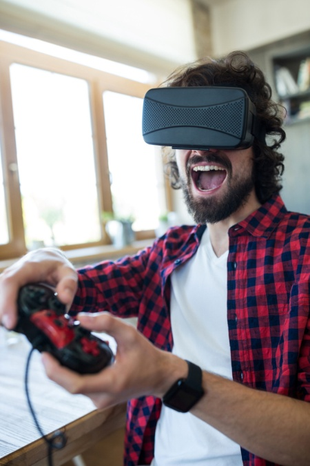 picture VR Gamers - počítačová herňa s virtuálnou realitou