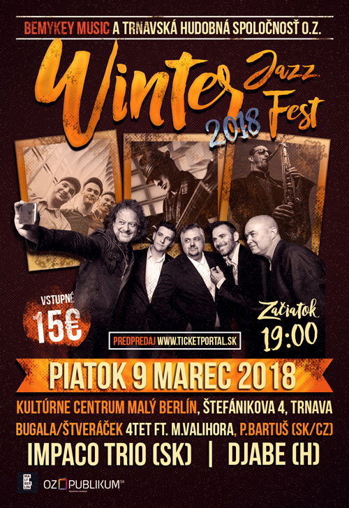 picture WINTER JAZZ FEST TRNAVA 2018