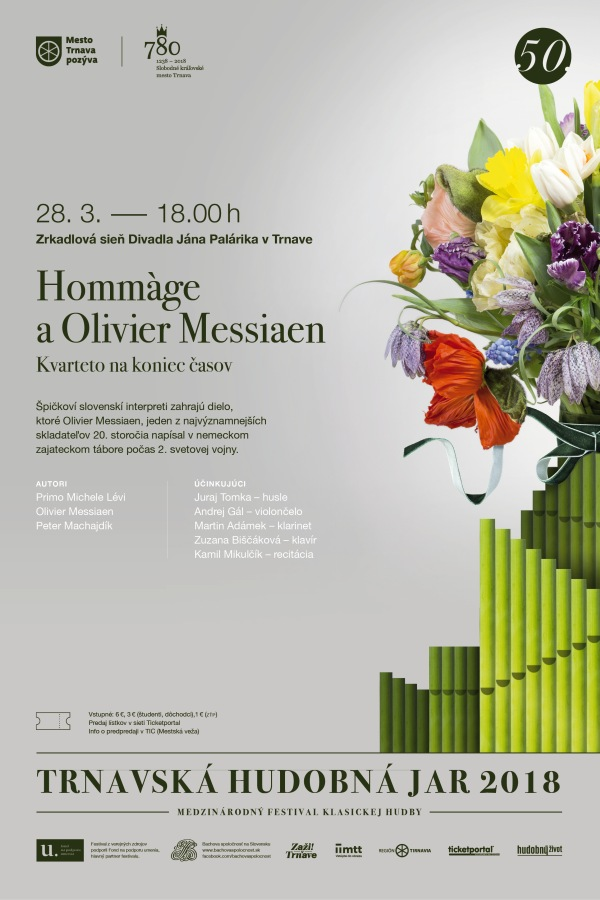 picture HOMMAGE A OLIVIER MESSIAEN