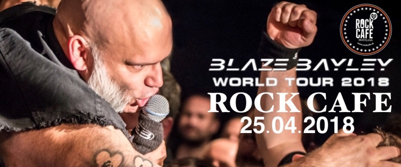 picture BLAZE BAYLEY WORLD TOUR 2018