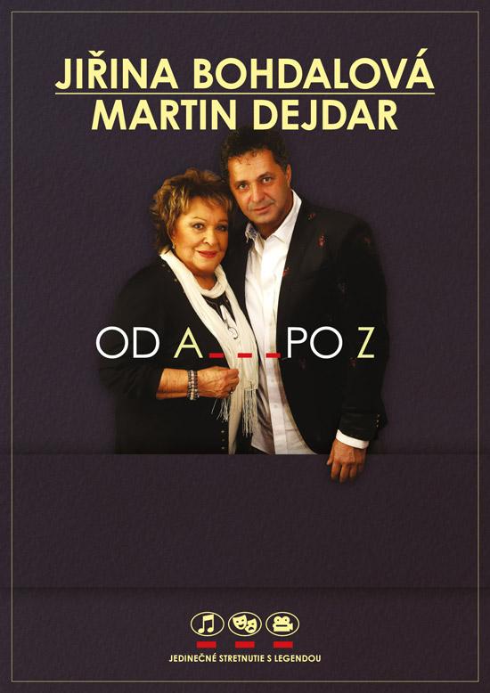 picture J. Bohdalová a M. Dejdar – Od A po Z s Jiřinou