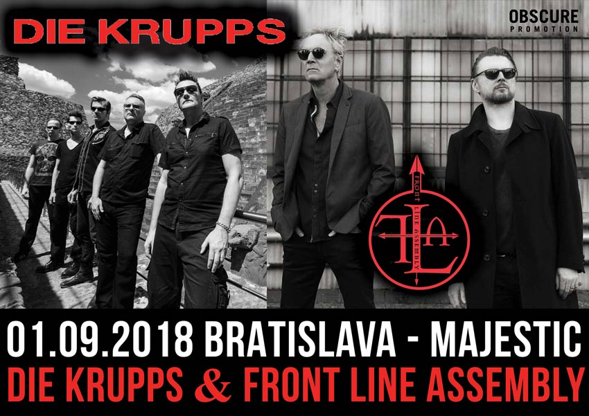 picture DIE KRUPPS (GER) & FRONT LINE ASSEMBLY (CAN)
