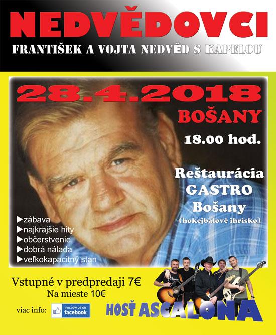 picture Nedvědovci v Bošanoch-František Nedvěd 70 + hostia