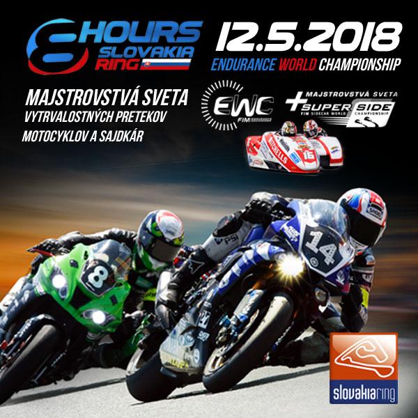 picture FIM EWC - Majstrovstvá sveta motocyklov a sajdkár