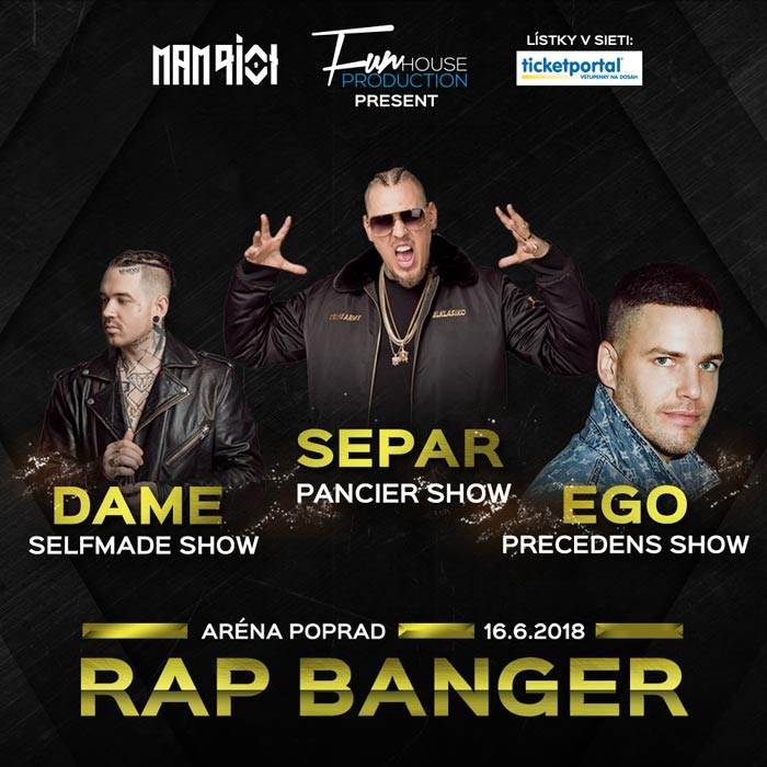 picture Rap Banger vol.1 with EGO, SEPAR, DAME