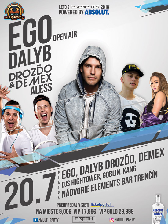 picture EGO, DALYB, ALESS, Drozďo & Demex -Elements bar...
