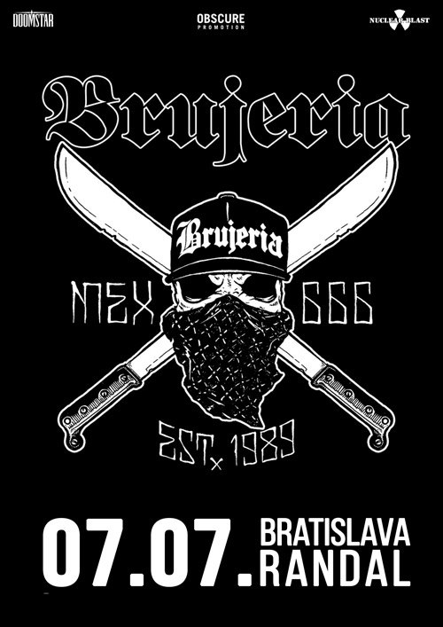 picture BRUJERIA (MEX) + support