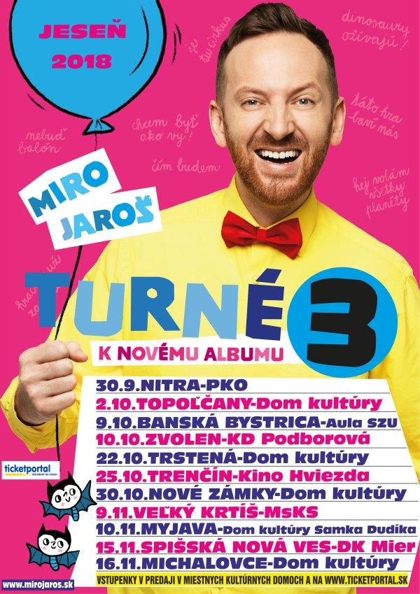 picture Miro Jaroš - Turné 3 k novému albumu