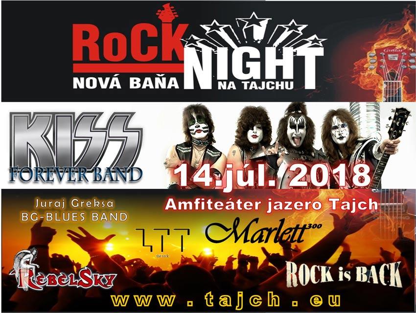 picture Rocková noc na Tajchu, Nová Baňa