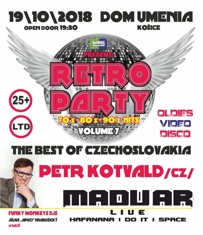 picture RETRO PARTY 2018 vol.7 - Best Of Czechoslovakia